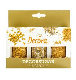 Decora Decoratieset goud 78g