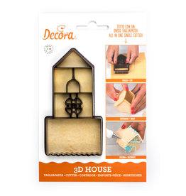 Decora Uitsteekvorm huisje