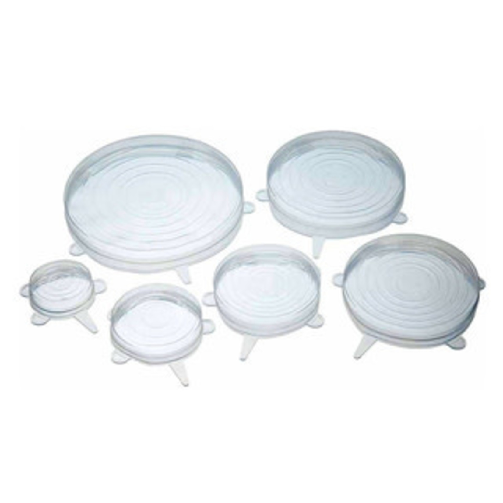 Kitchencraft Afsluitdeksels siliconen set van 6