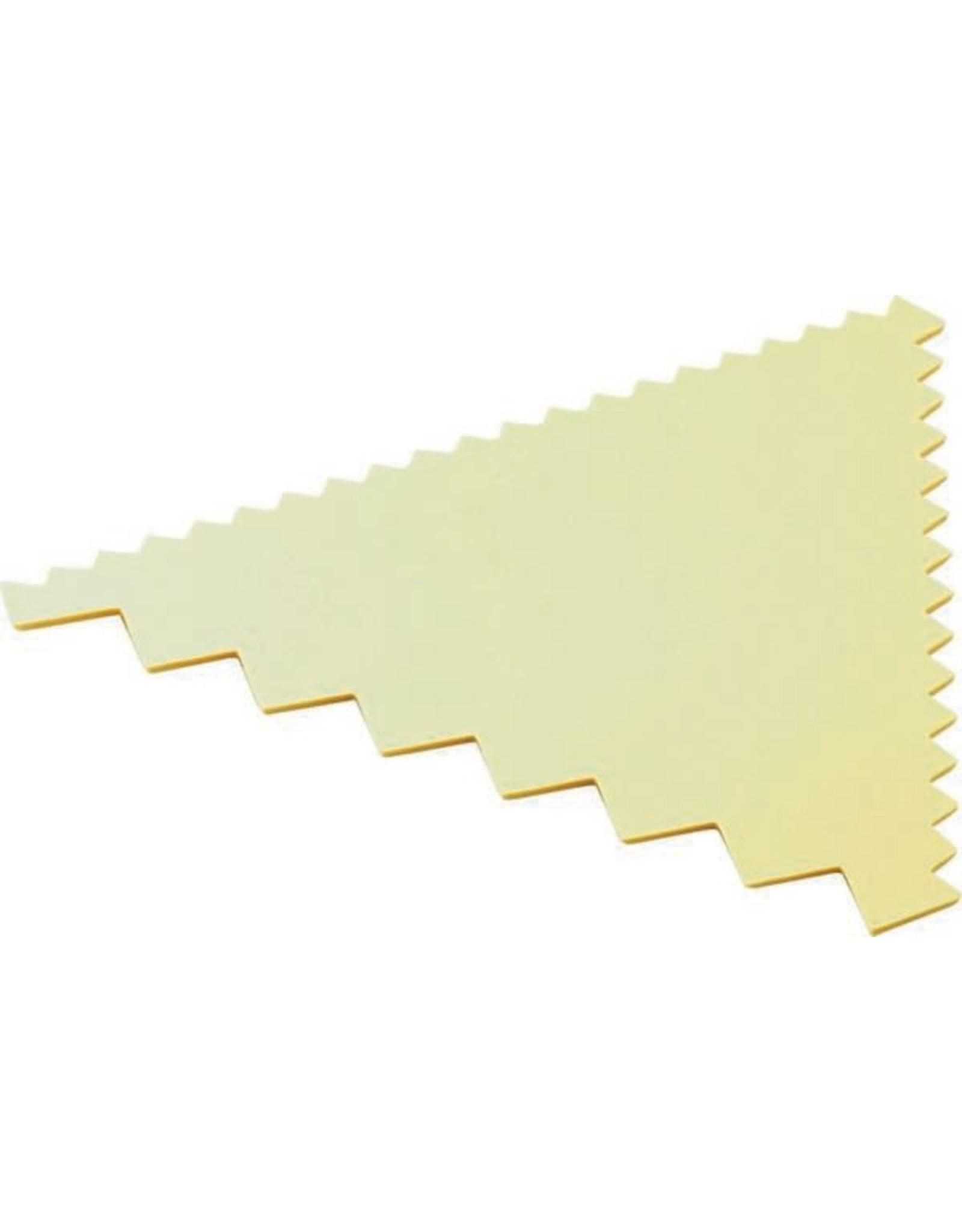 Koswa Deegkam 3-zijdig geel