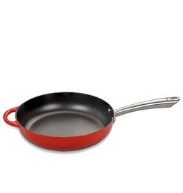 Küchenprofi Sauteerpan gietijzer rood 28cm