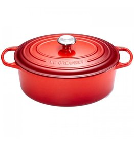 Le Creuset Cocotte ovaal rood 23cm
