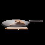 Le Creuset Crepepan Gietijzer met spatel 32cm