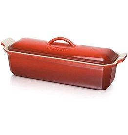 Le Creuset Terrine rood 32cm aardewerk