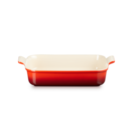 Le Creuset Gratineerschaal rood 37x32cm