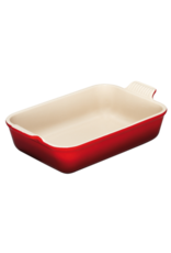 Le Creuset gratineerschaal rood 33x21cm 2,3L