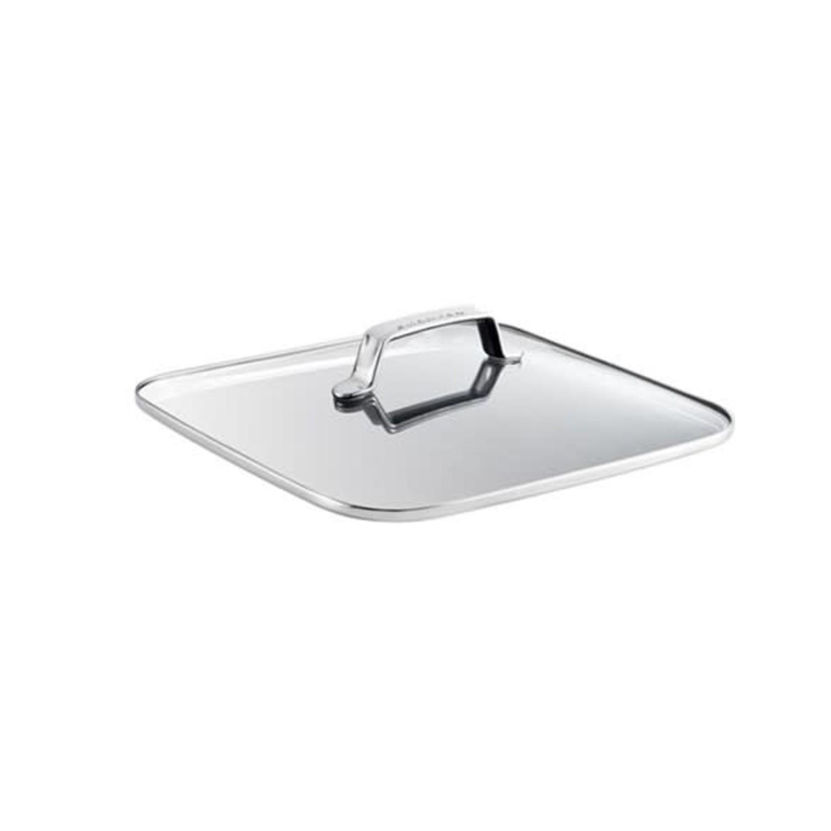 Scanpan TechnIQ deksel glas vierkant 28cm
