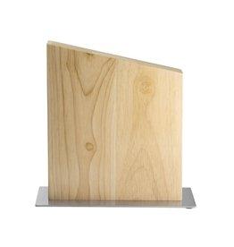 Magnetisch houten messenblok