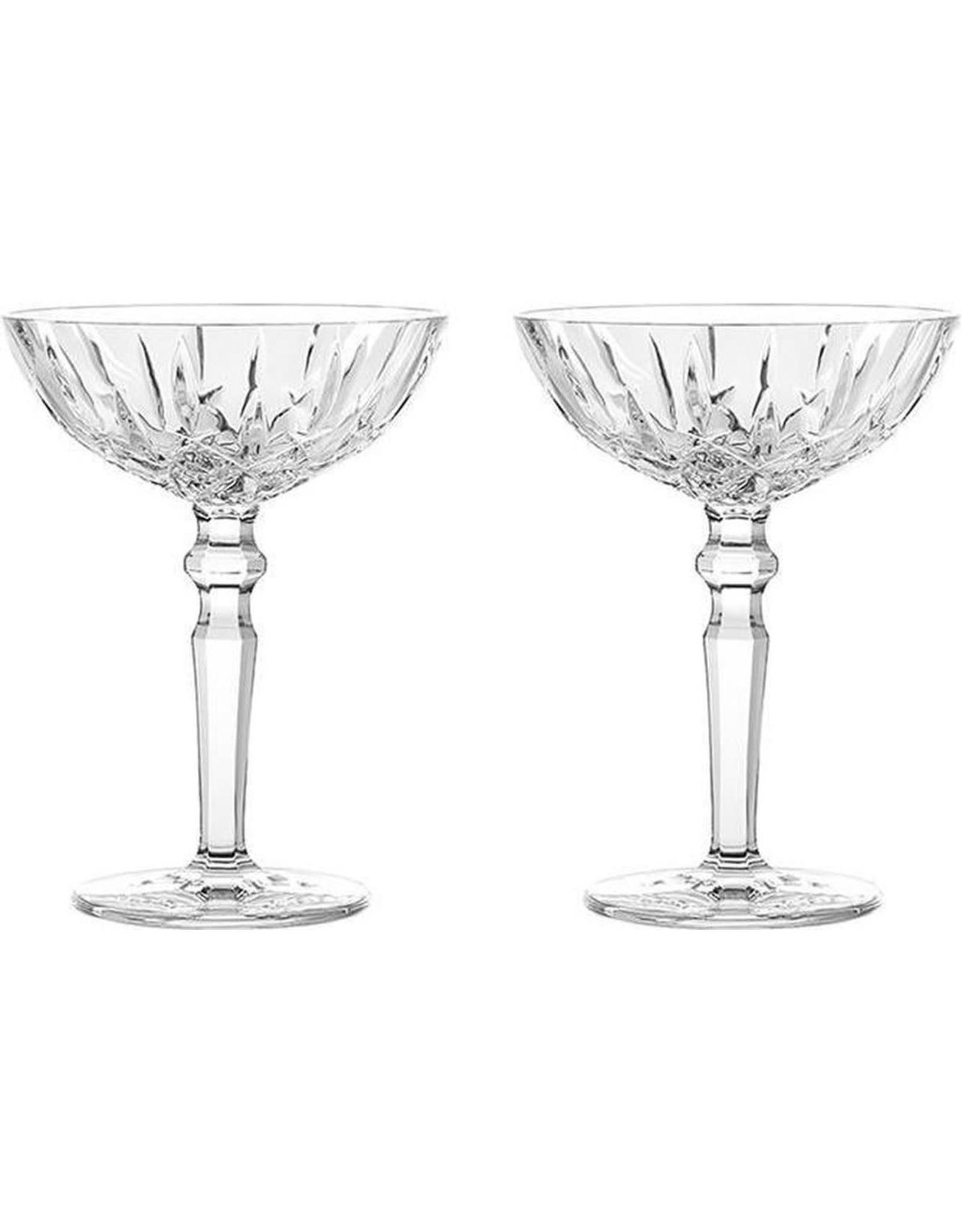 Nachtmann Champagne / cocktailglas 180ml,  2 stuks