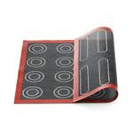 Silikomart Siliconen bakmat geperforeerd 40x30cm éclairs & soezen