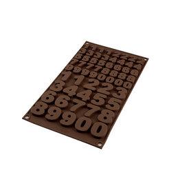 Silikomart Siliconen chocoladevorm cijfers