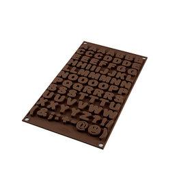 Silikomart Siliconen chocoladevorm letters