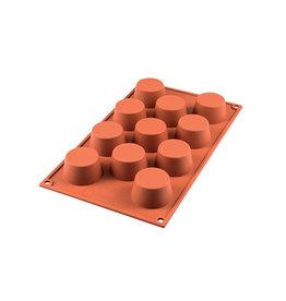 Silikomart Siliconen bakmat 11 x mini muffin 5,1cm