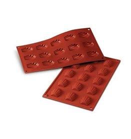 Silikomart Siliconen bakmat 15 x madeleine 4,4cm