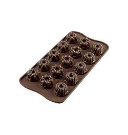 Silikomart Siliconen chocoladevorm Fantasia