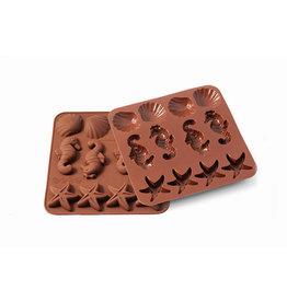 Silikomart Siliconen chocoladevorm Sea Life
