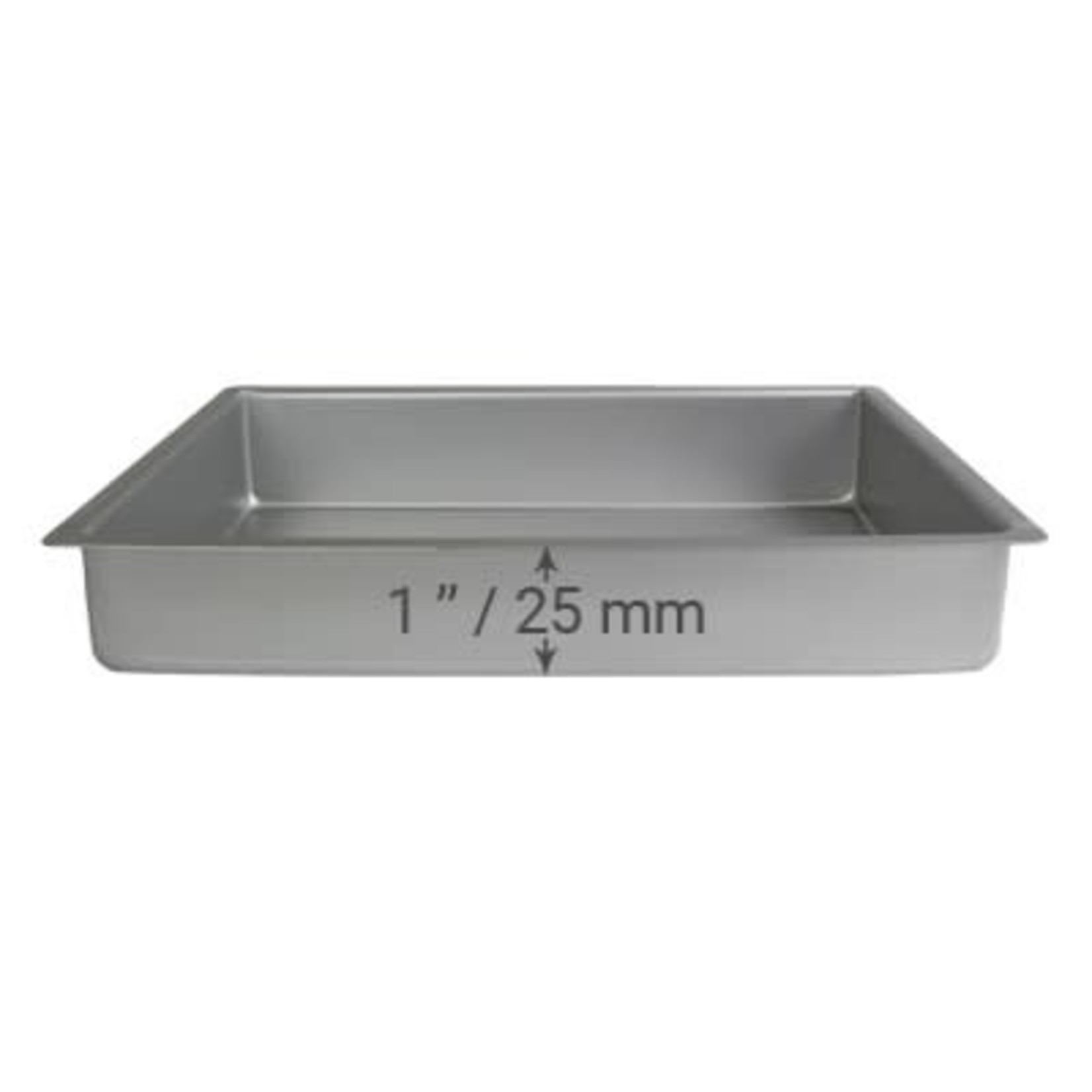 PME Bakplaat brownie 20x30x2,5cm