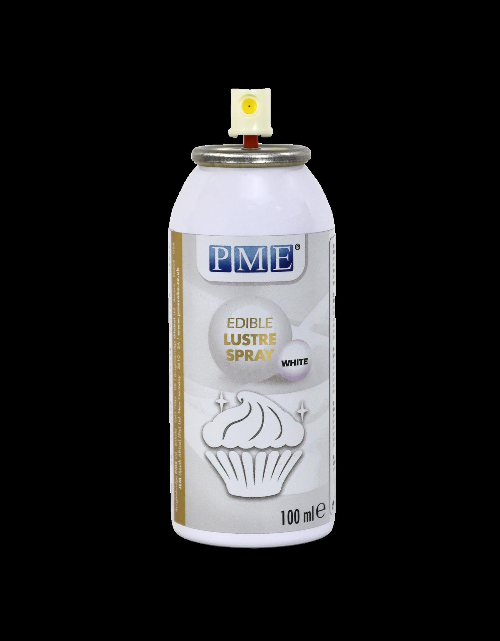 PME Kleurspray eetbaar wit 100mL