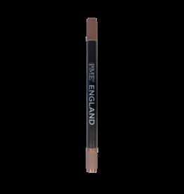 """PME Pen 2-zijdig """"Brown"""" 1,5/2,5mm met navulling"""