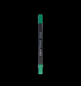 """PME Pen 2-zijdig """"Dark Green"""" 1,5/2,5mm met navulling"""