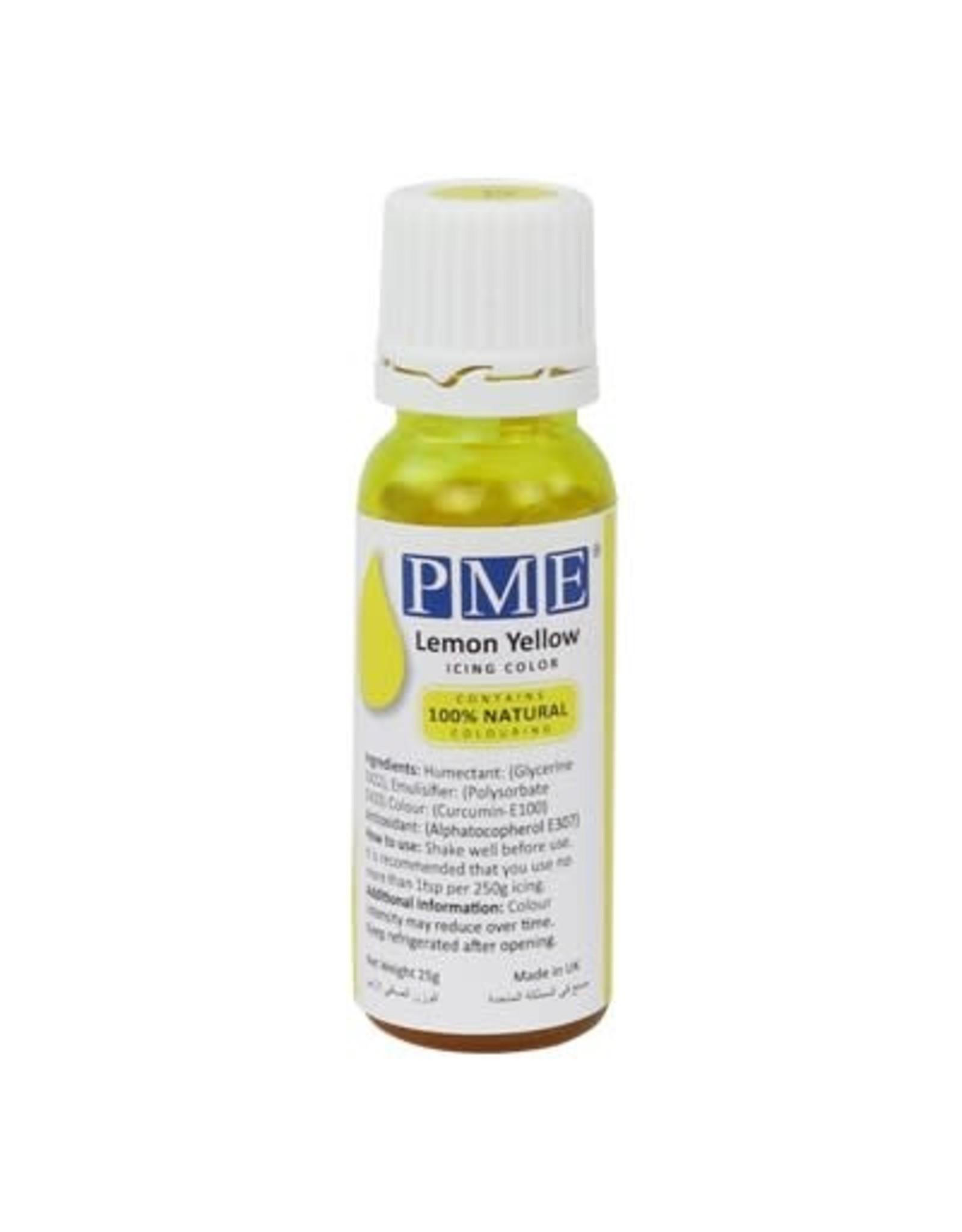 """PME Kleurstof vloeibaar """"Lemon Yellow"""" 25g"""