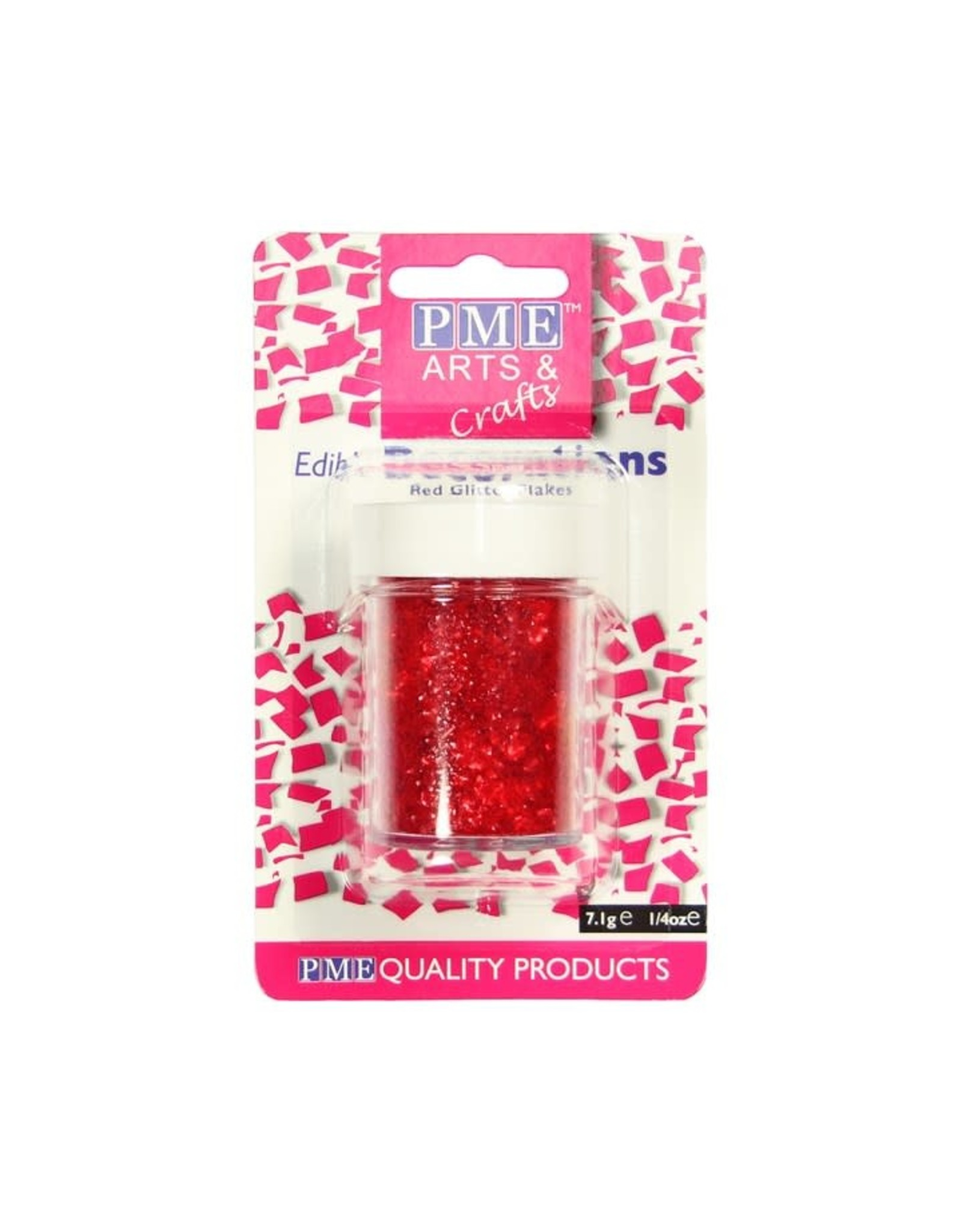 PME Glitter Rood