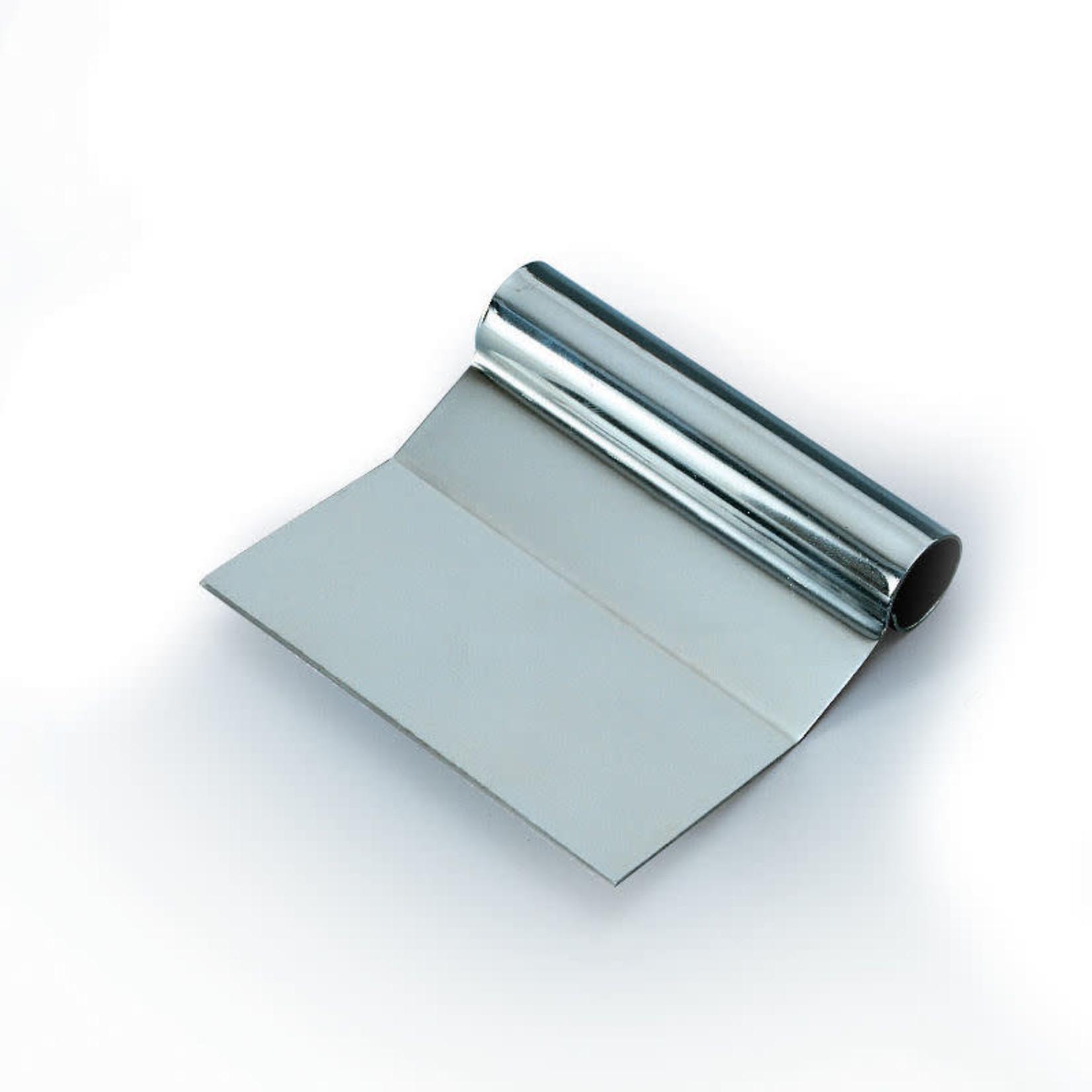 Martellato Deegschraper rvs met knik 12x11cm