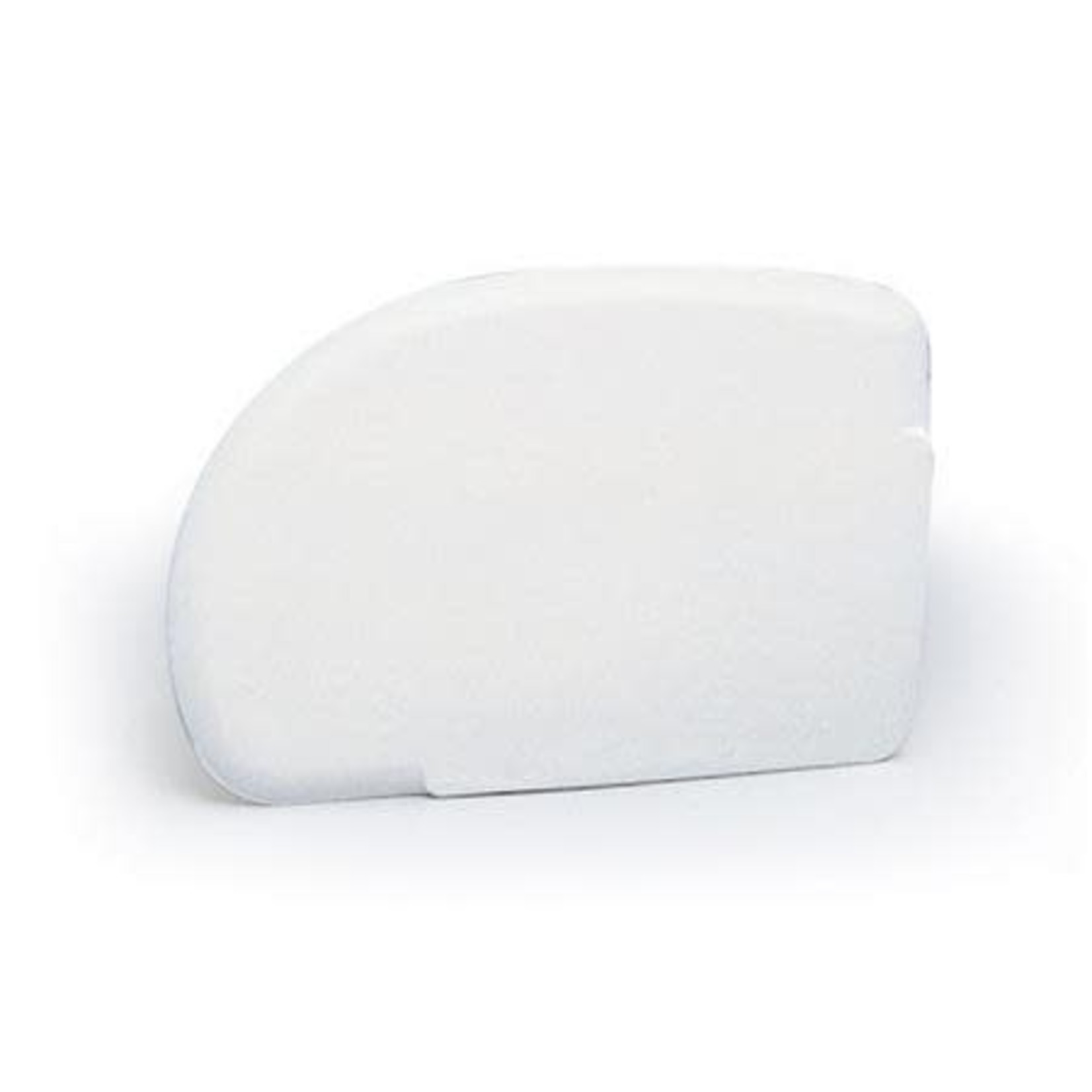 Martellato Deegschraper kwartrond wit zacht 12,5x9cm