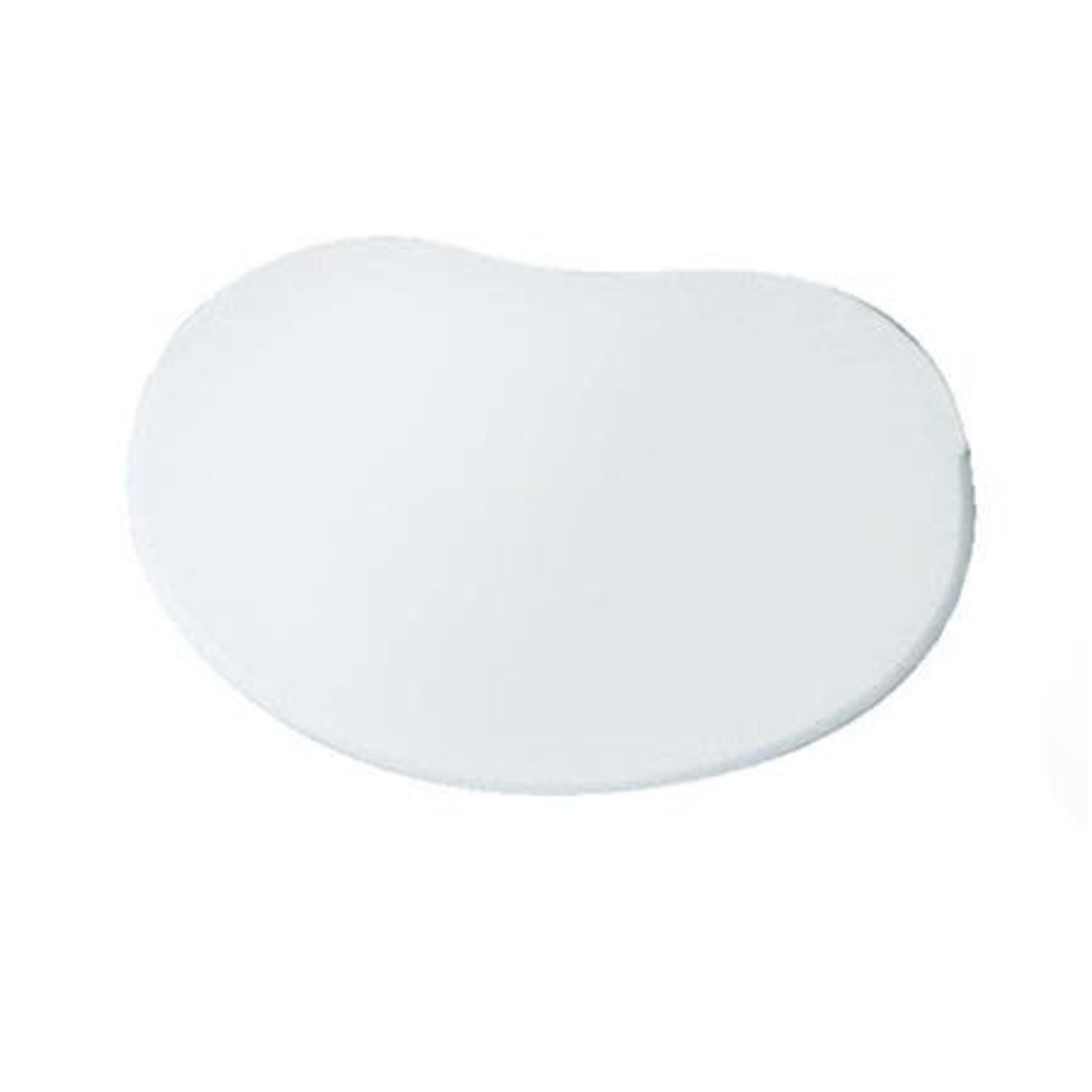 Martellato Deegschraper wit zacht 14x9cm