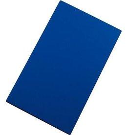Snijplaat HDPE blauw glad 2-zijdig 50x30cm