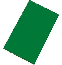 Snijplaat HDPE groen glad 2-zijdig 50x30cm