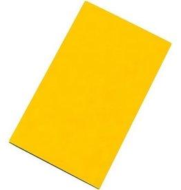 Snijplaat HDPE geel glad 2-zijdig 50x30cm