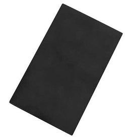 Snijplaat HDPE zwart glad 2-zijdig 50x30cm