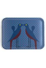 """Images d'orient Dienblad """"Birds of Paradise"""" 46x34cm"""