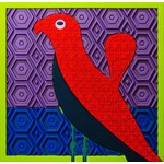"""Images d'orient Siliconen pannenonderzetter """"Birds of Paradise"""""""