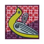Images d'orient Glazenonderzetter Birds of Paradise Roze