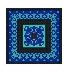 Images d'orient Glazenonderzetter Blauw 3