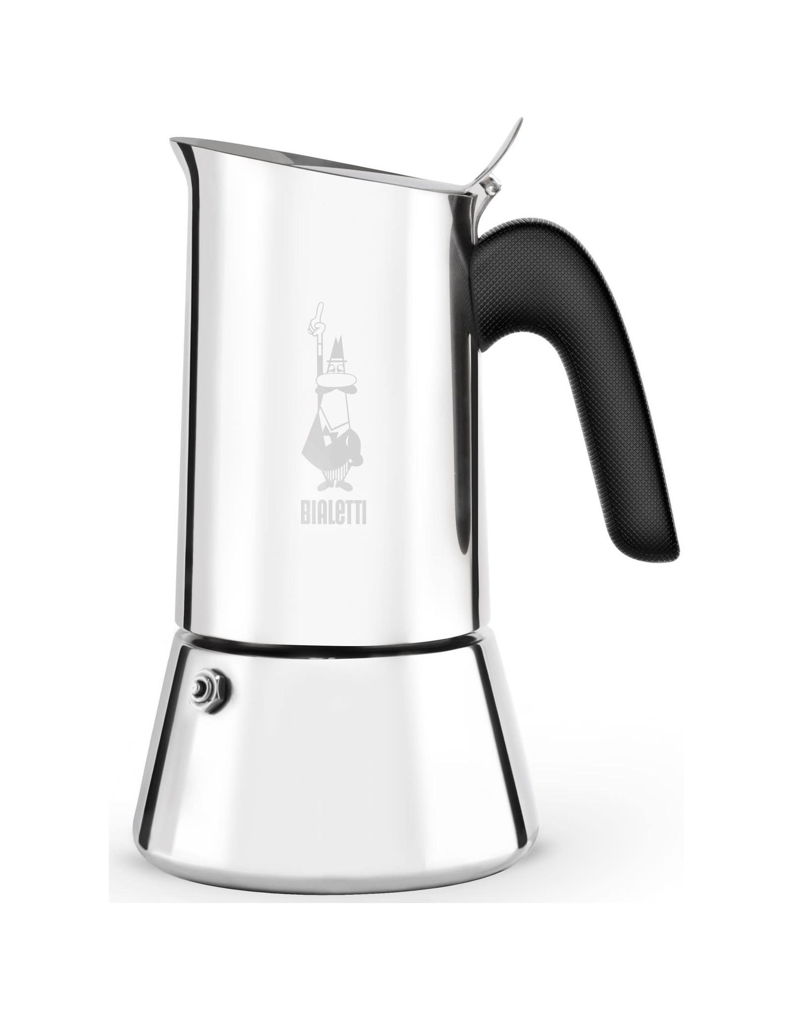 Bialetti espressopot 4-kops RVS