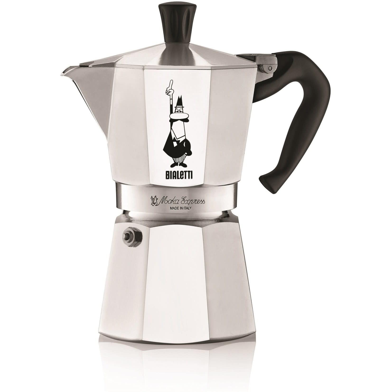 Bialetti espressopot 4-kops aluminium