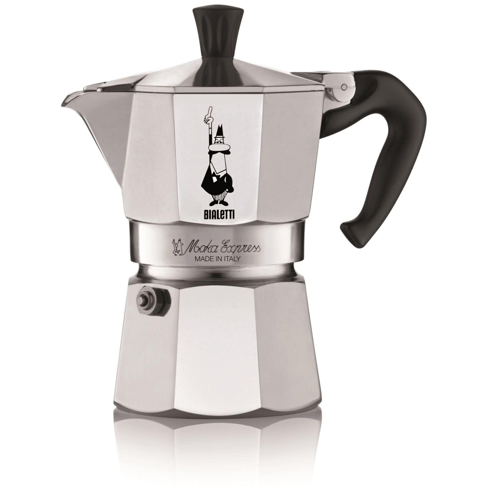 Bialetti Moka Express 3-kops Espressopot