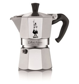 Bialetti espressopot 3-kops aluminium