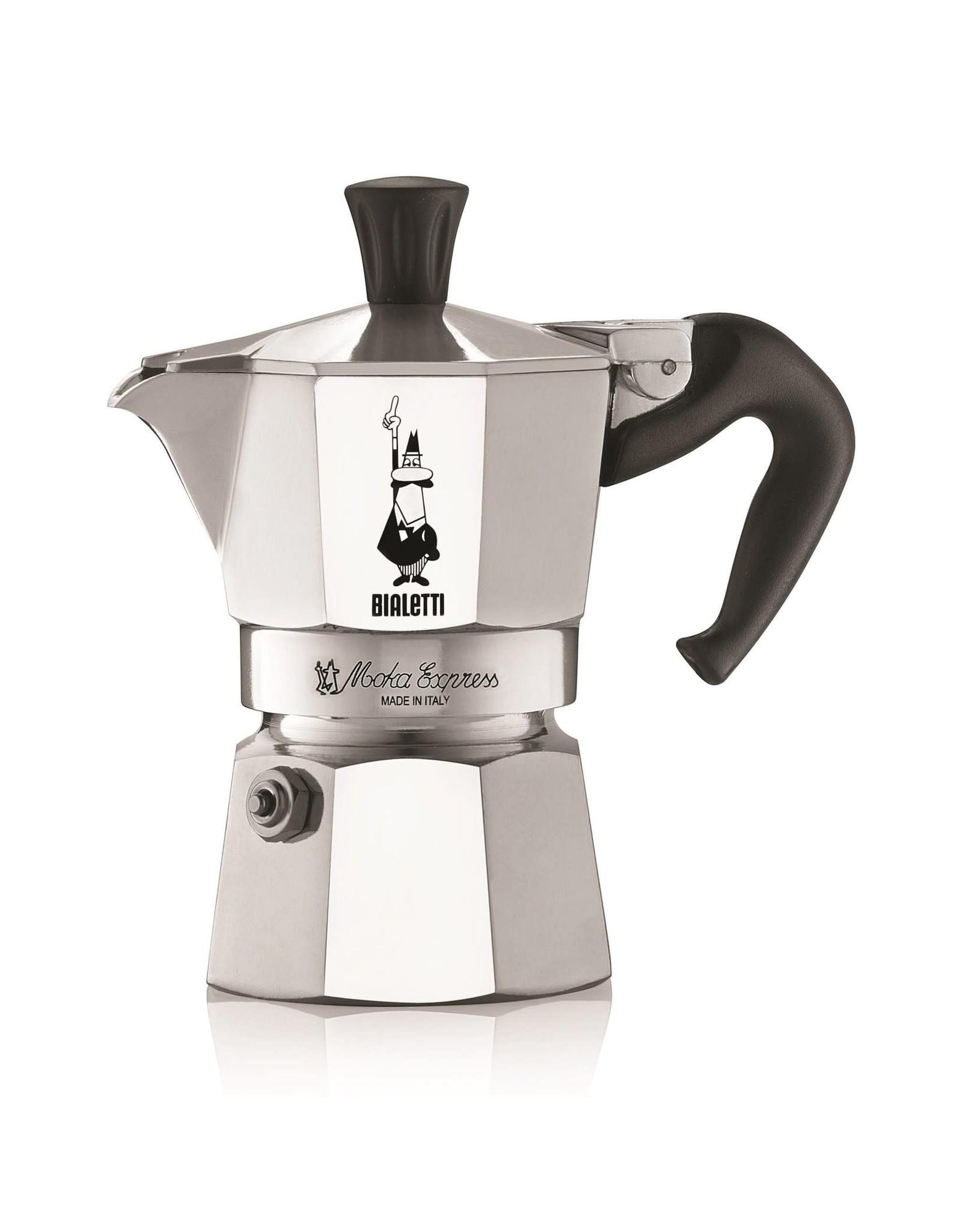 Bialetti espressopot 1-kops aluminium