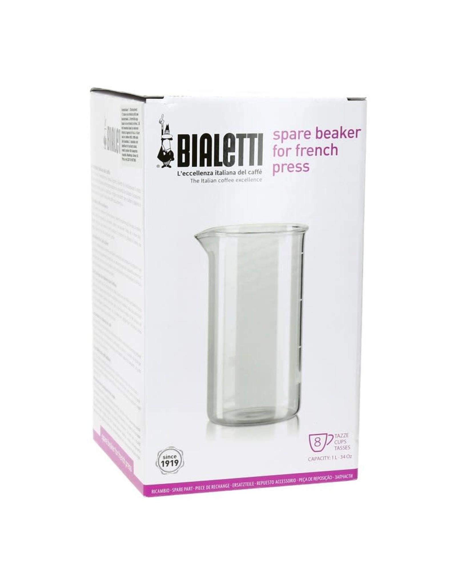 Bialetti Glas voor 1L cafetière