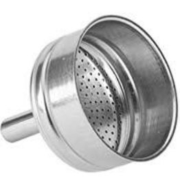 Bialetti Filtertrechter 10-kops  RVS