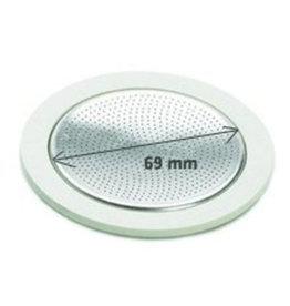Bialetti Ring + filter 10-kops RVS