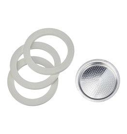 Bialetti Ring + filter 9-kops aluminium