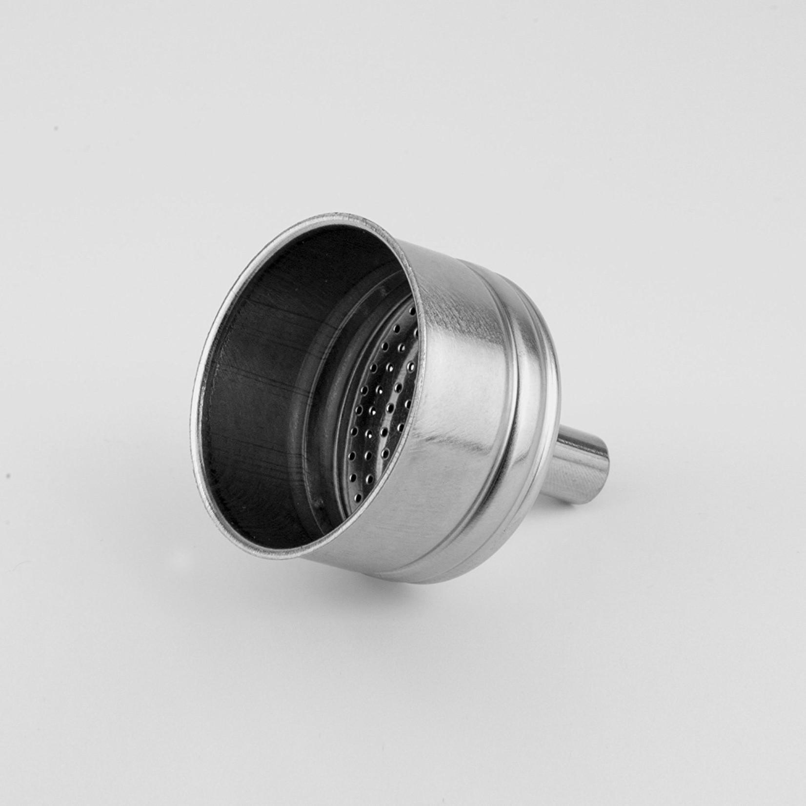 Bialetti Filtertrechter 2-kops RVS