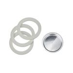 Bialetti Ringen + filter 3- en 4-kops voor o.a. de Moka Express, Dama en Break