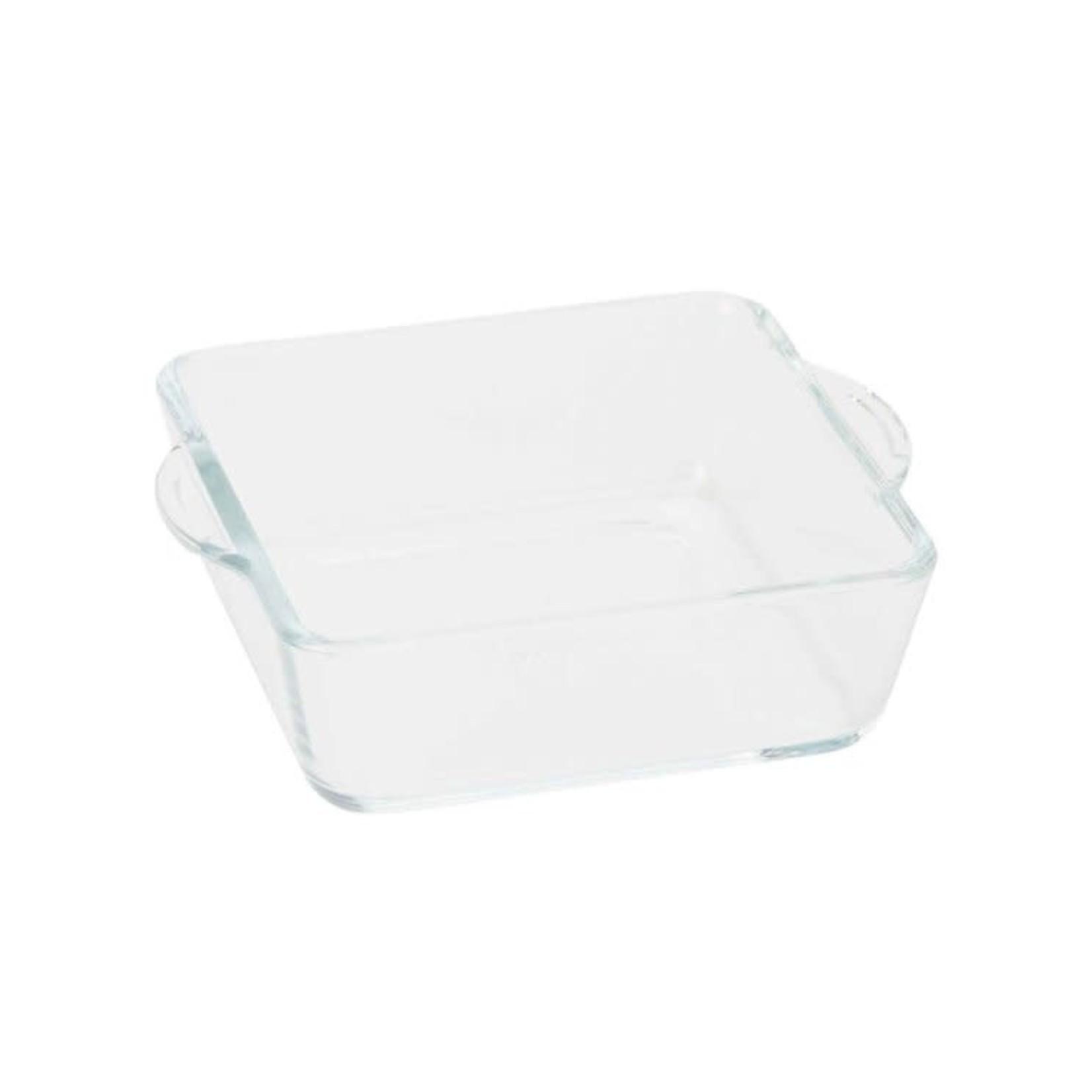 Ovenschotel mini glas vierkant 0,44L 15x13x4,5cm  /12