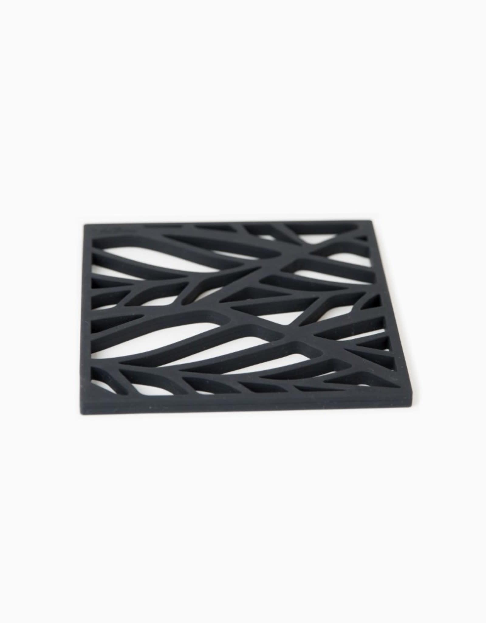Tools2cook Siliconen onderzetter zwart
